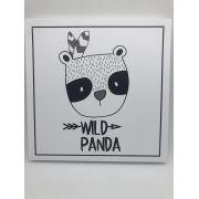Quadro Moderninho Wild Panda - Divino Talento Ref 7187