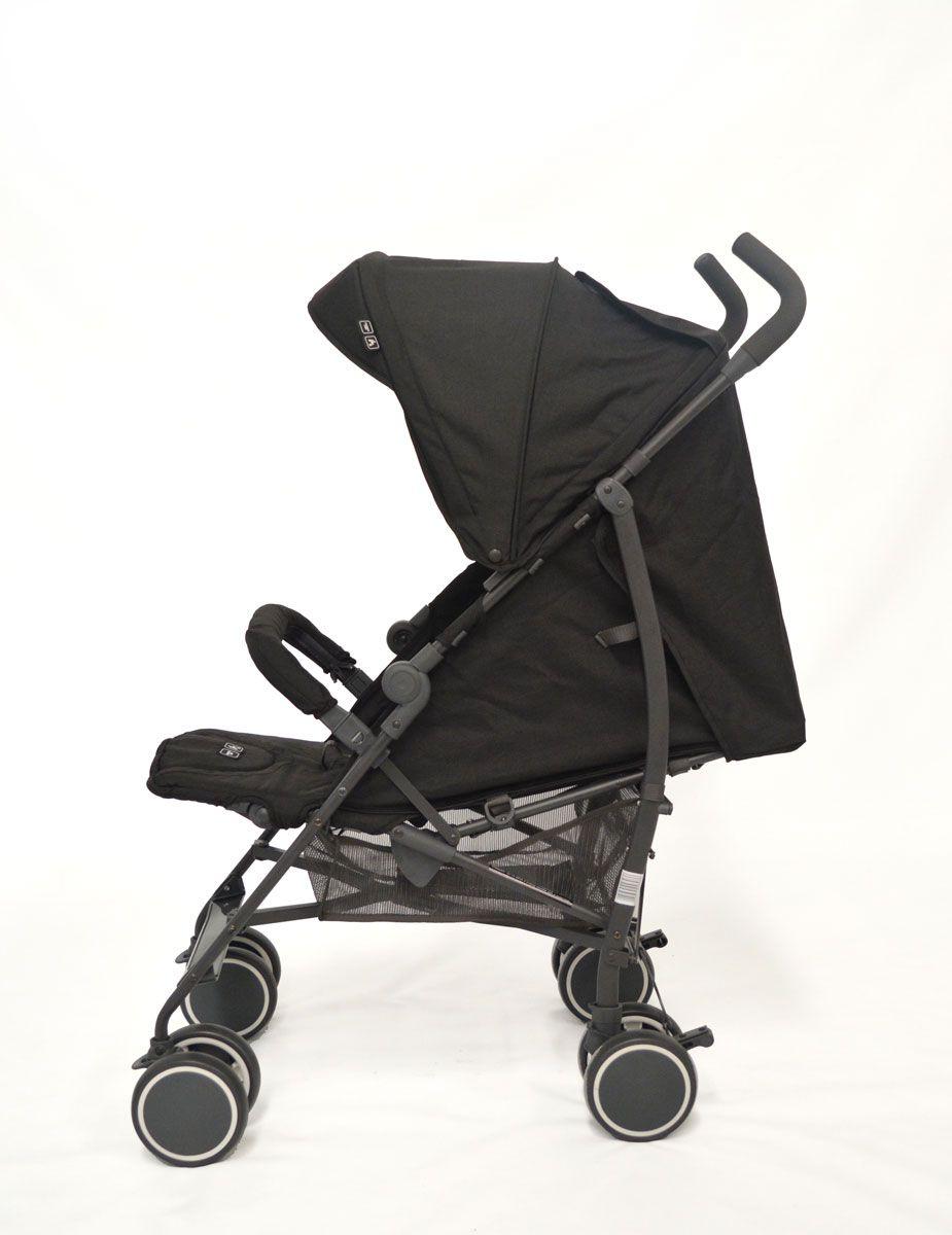 Carrinho Genua Woven Black  Abc Design