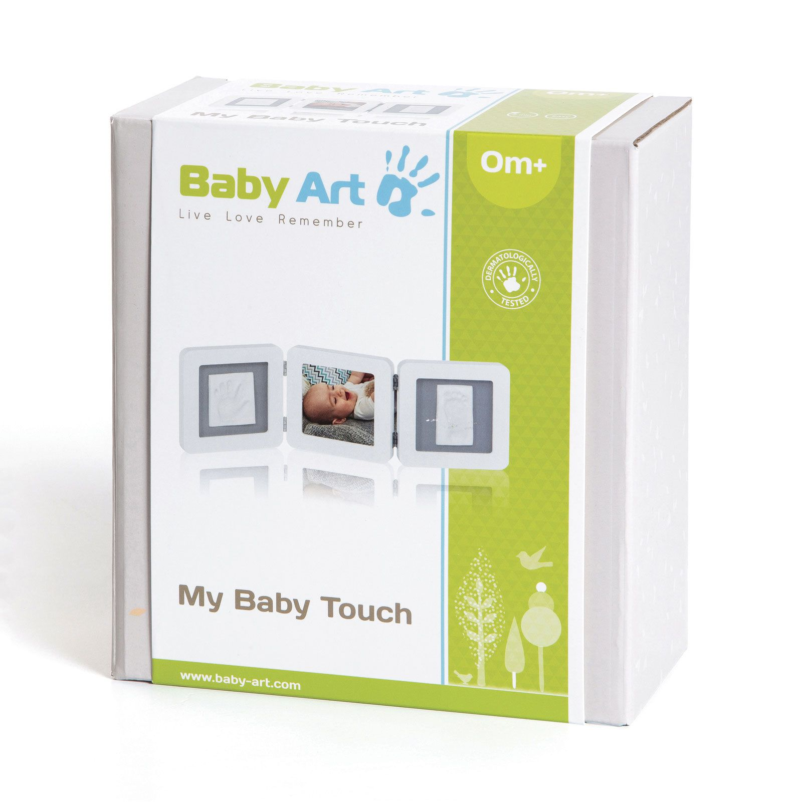 Baby Art Touch Triplo 1p White e Grey  - Dorel  Ref Imp91439