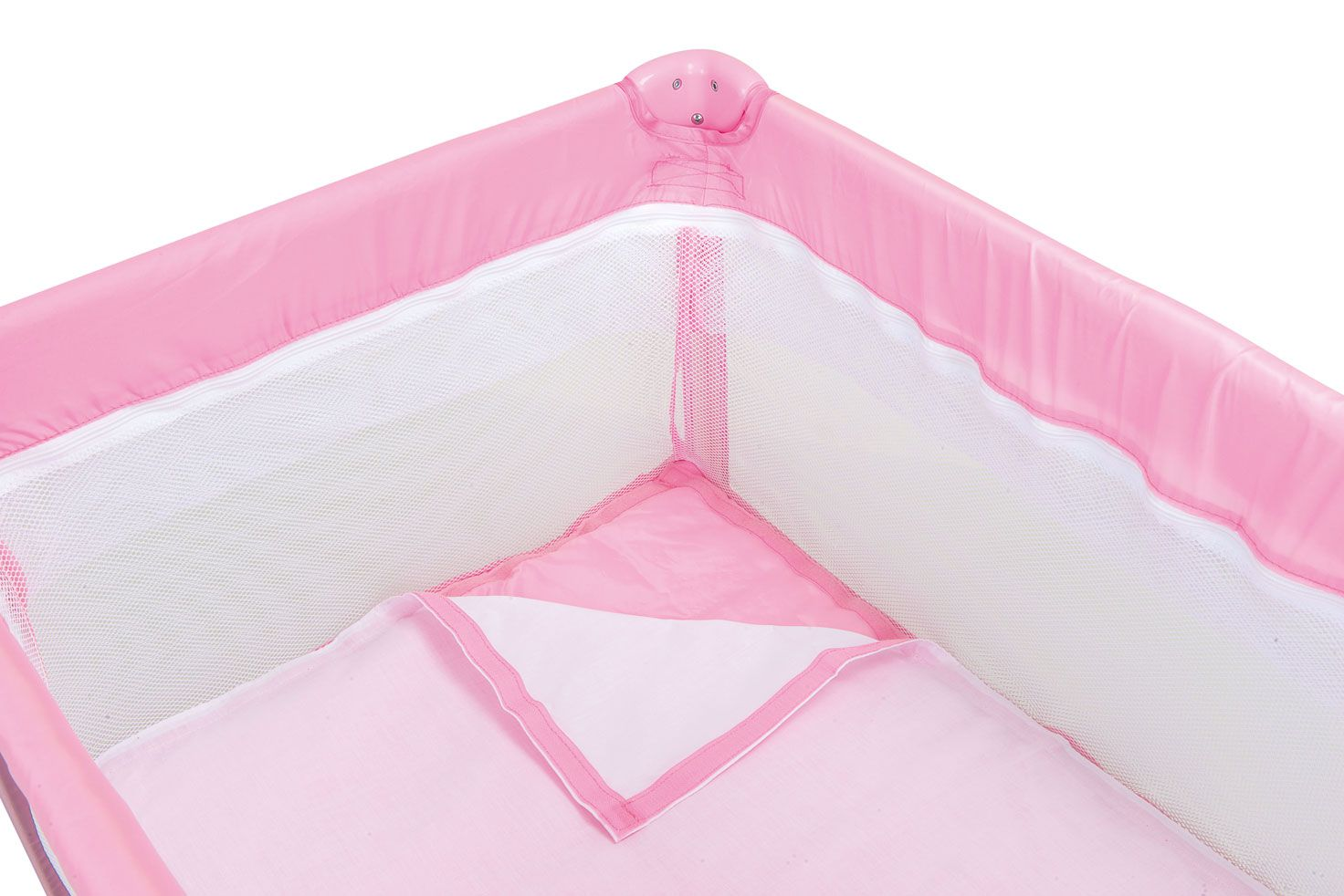 Berço New Cuore Pink  Burigotto