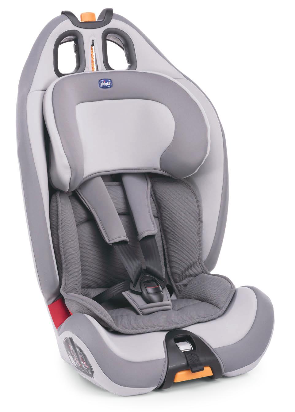 Cadeira Auto Gro up 123 Elegance - Chicco