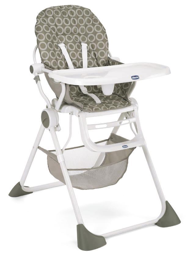 Cadeira de Papa Pocket Lunch Sand - Chicco