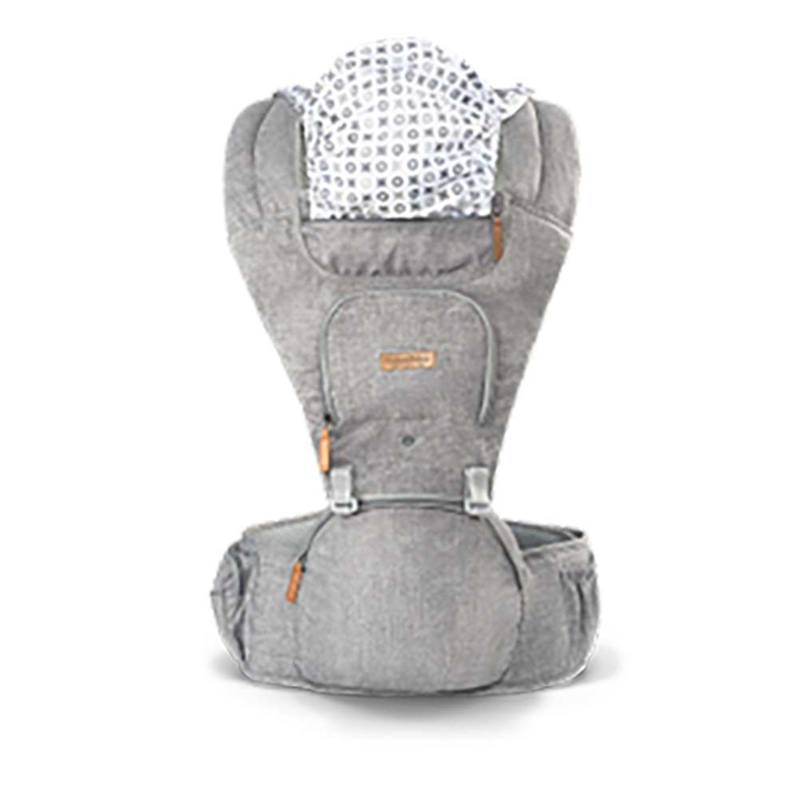 Canguru Para Bebê Hipseat Cinza - Fisher Price Ref Bb312