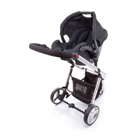 Carrinho Travel System Mobi Black Silver Safety 1st - Dorel Ref T5003ts