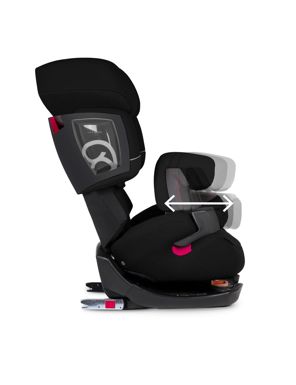Cadeira Pallas fix Pure Black  Cybex