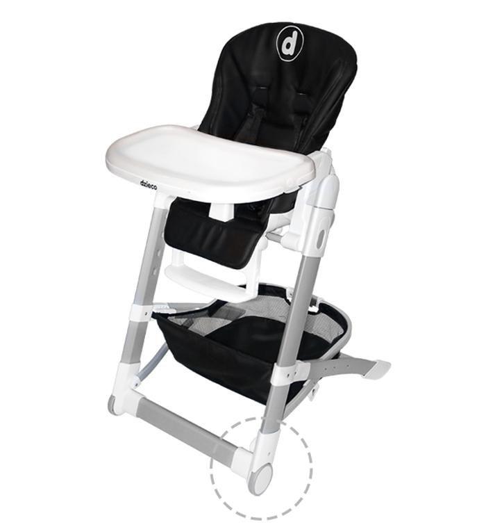 Cadeira de Alimentação Lilly Preto - Dzieco Ref 506