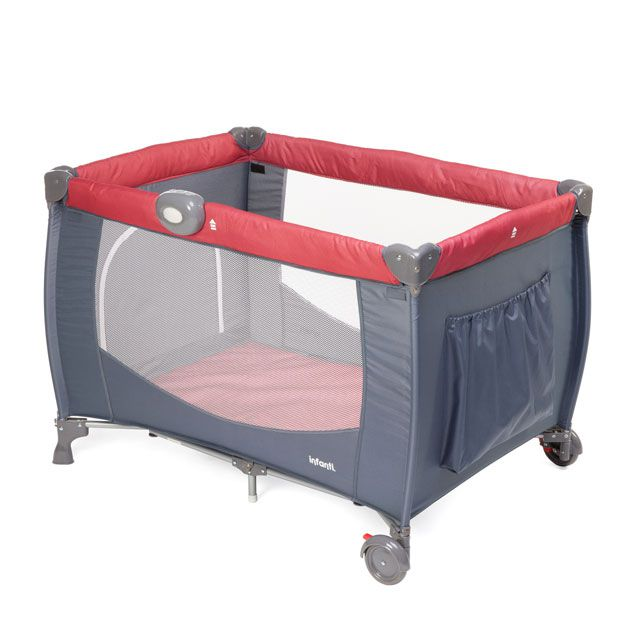 Berço Cielo Vermelho Infanti - Dorel  Refkdd-930b