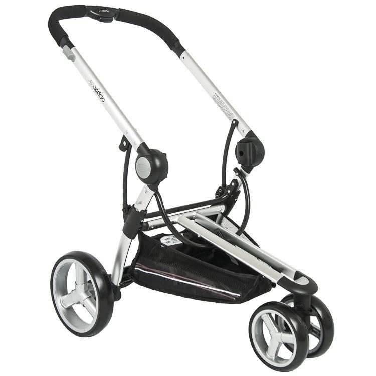 carrinho de bebê 3 rodas Compass 2 vermelho - Kiddo  Ref 889