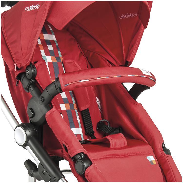 carrinho de bebê Eclipse vermelho - Kiddo Ref 5218