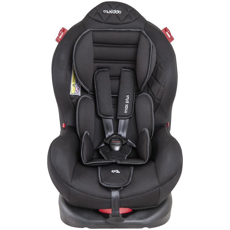 Cadeira Auto Max Plus Preto  Kiddo Ref
