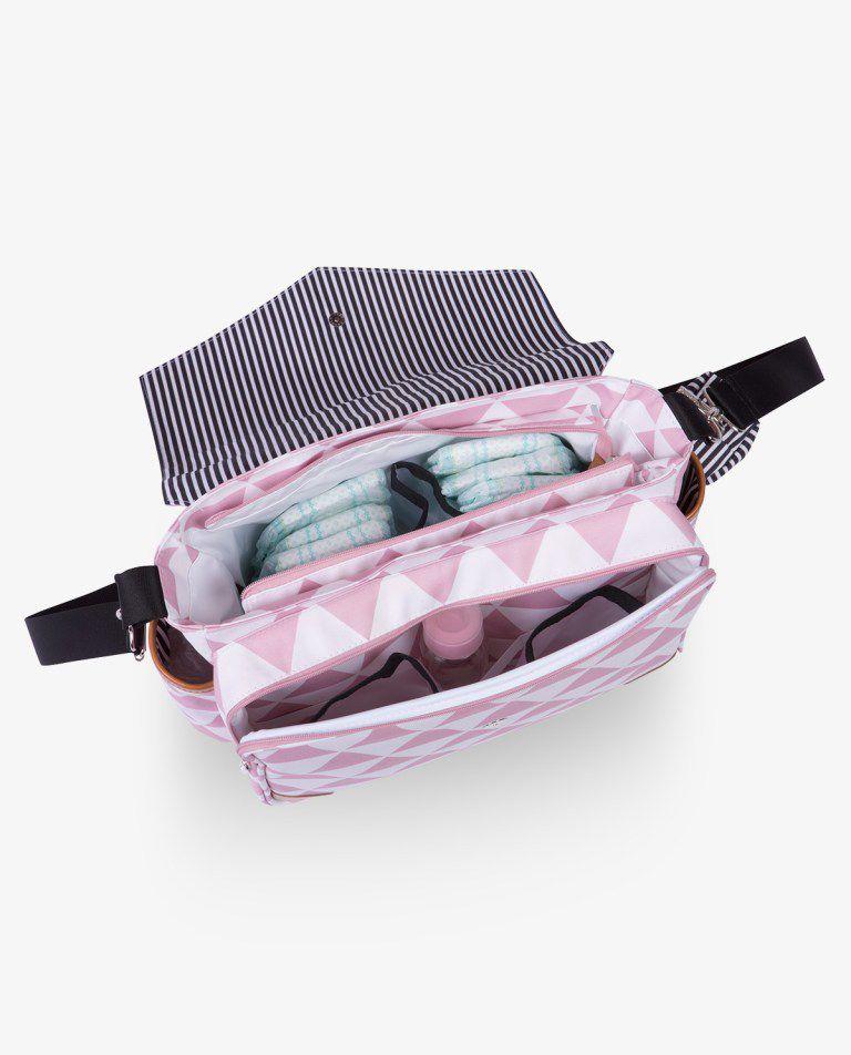Bolsa Mommy Rosa Manhattan - Masterbag Ref12man399