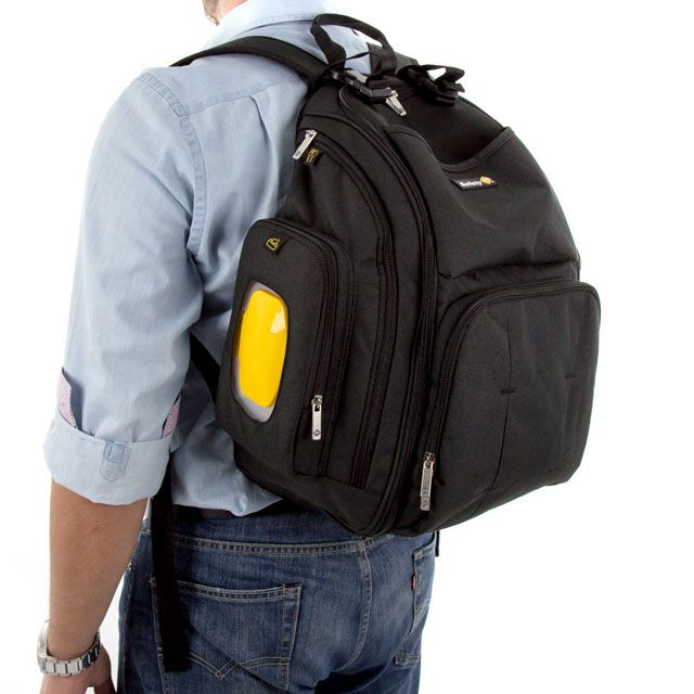 Mochila Back Pack Black Safety 1st - Dorel Ref Ca5540