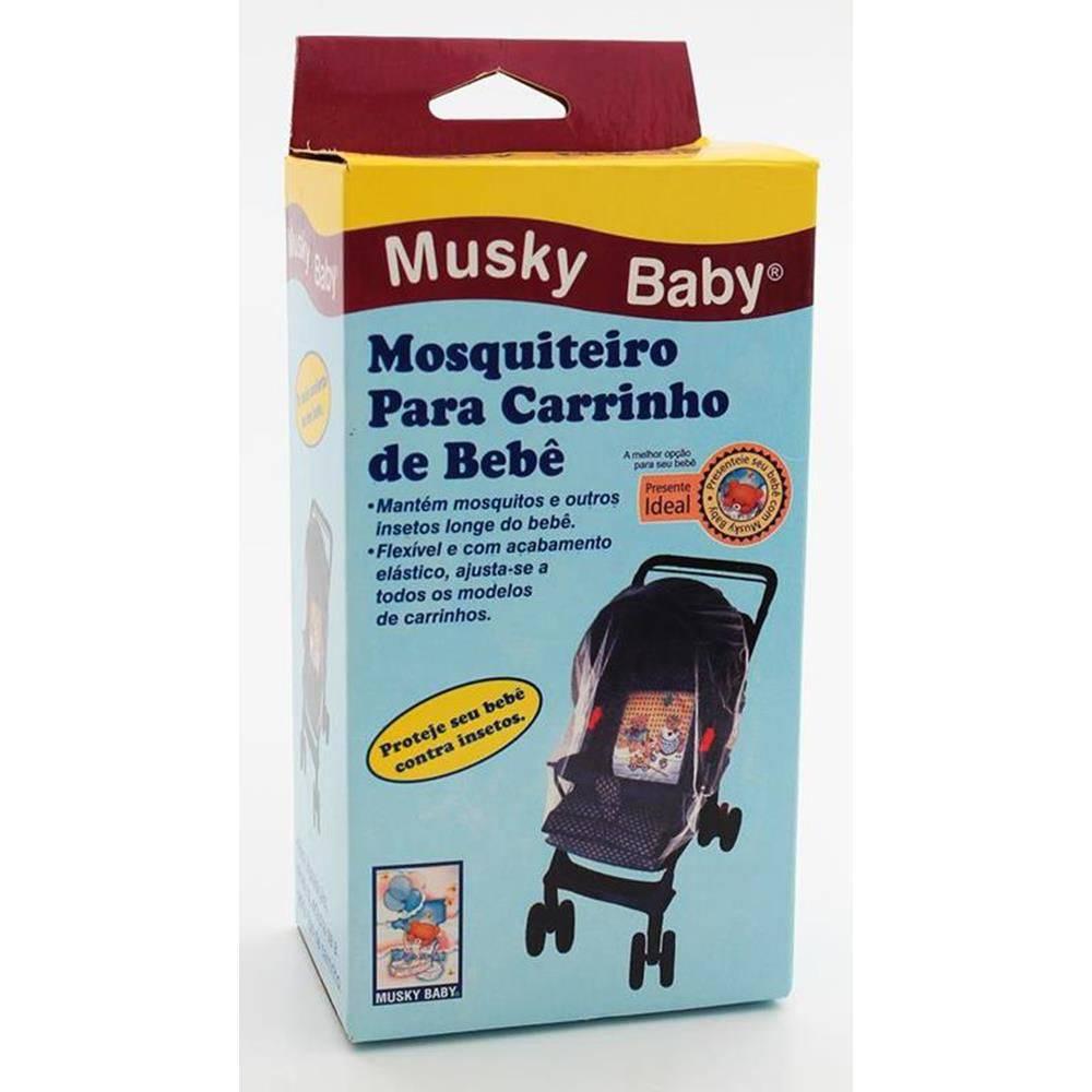 Mosquiteiro de Carrinho - Musky Baby