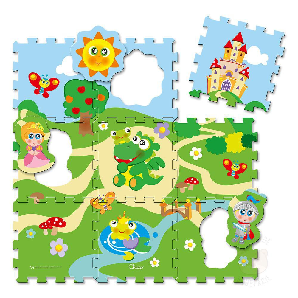 Tapete Puzzle Castelo - Chicco
