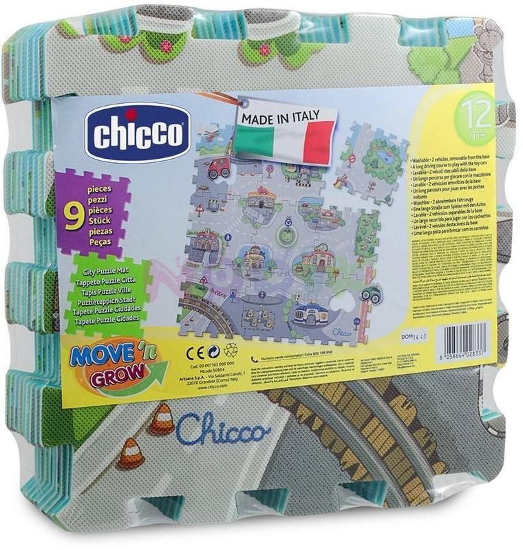 Tapete Puzzle Cidade  - Chicco