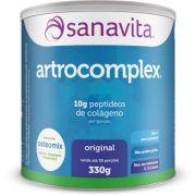 Artrocomplex - Colágeno + complexo vitamínico-mineral formado por cálcio, vitamina D e magnésio.