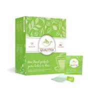 Chá Digestivo - Chá verde, Carqueja, Mate verde, Hortelã, Gengibre, Guaraná, Sálvia e Alecrim - 60 sachês