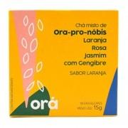 Chá Misto Ora-Pro-Nóbis - Laranja, Rosas, Jasmim E Gengibre
