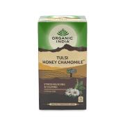 Chá Tulsi Camomila e Mel