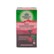 Chá Tulsi Canela e Rosas