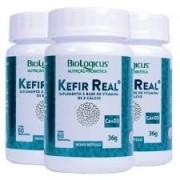 Combo Kefir Cálcio e Vitamina D3 - para 3 meses
