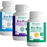 Combo Kefir Zinco, Selênio, Vitamina C + Kfr Magnésio + Kfr Calcio e D3