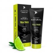 Creme Dental Vegano - Tea Tree, limão e menta 120g