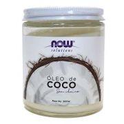 Óleo de coco natural sem cheiro para pele e cabelos NOW Solutions