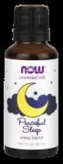 Oleo Essencial Peaceful Sleep NOW SOLUTIONS 30ml