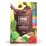 PROTEÍNA VEGANA ONE NUTRITION CHOCOLATE  SACHE 45G