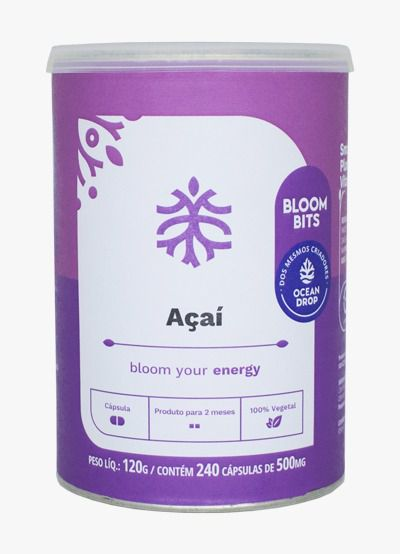 AÇAÍ EM CÁPSULAS - BLOOM YOUR ENERGY