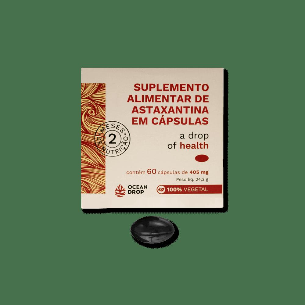 ASTAXANTINA VEGANA - 100% VEGETAL - PODEROSO ANTIOXIDANTE