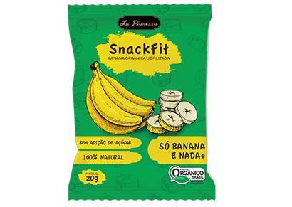 Banana Orgânica Liofilizada 20gr