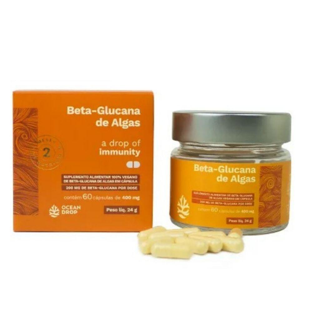 Beta Glucana - Suplemento de algas 100% Vegano