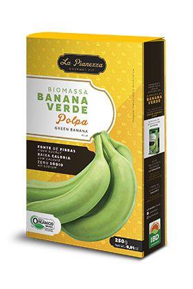Biomassa Banana Verde Polpa Orgânica