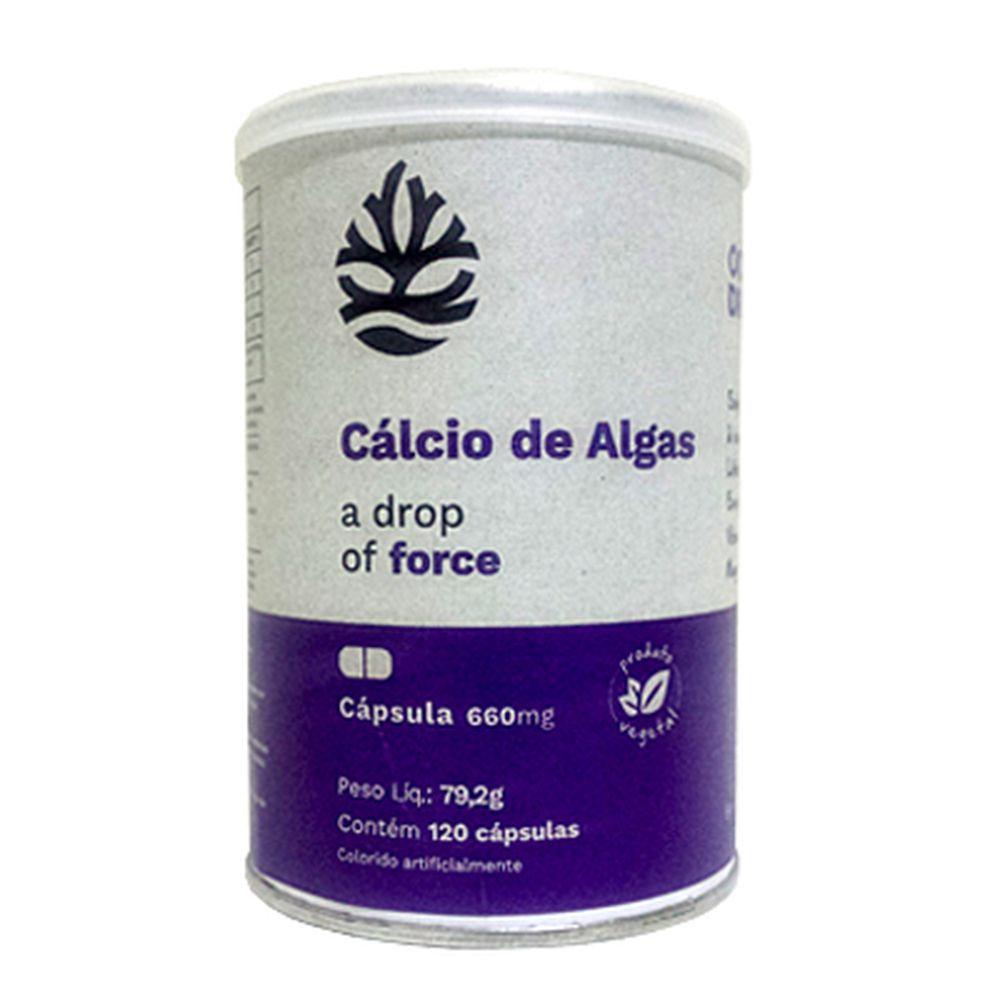 Cálcio de Algas 120 cápsulas