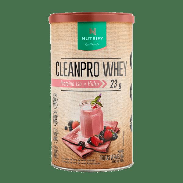 Cleanpro Whey Frutas Vermelhas 450g
