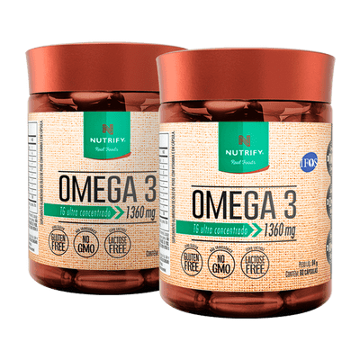 Combo 2 Omega 3  EPA 840MG - DHA 521MG