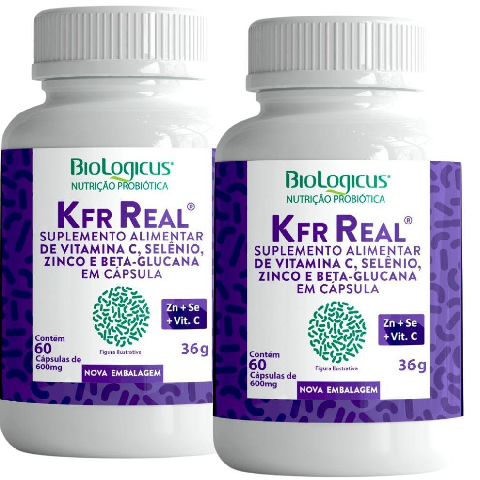 Combo Kefir Real - Zinco, Selênio, Vitamina C - REFORÇO PARA IMUNIDADE - para 2 meses