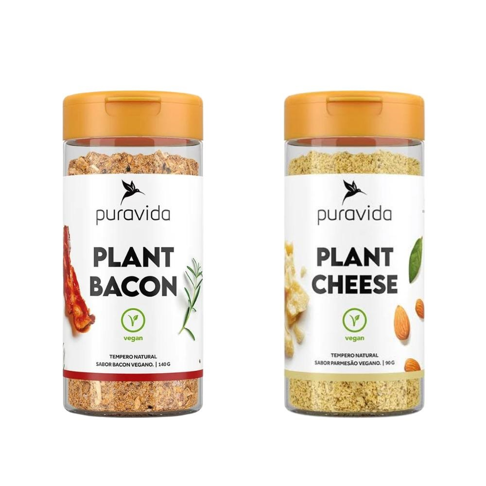 Combo Vegano 1 Plant Bacon + 1 Plant Cheese Parmesão