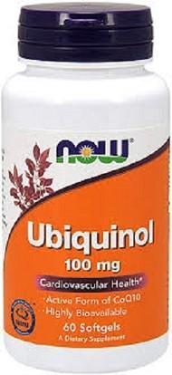 CoQ10 Ubiquinol 100mg Now 60 Capsulas Gelatinosas