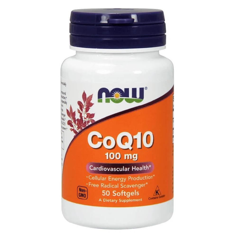 CoQ10 NOW 100mg - 50 caps