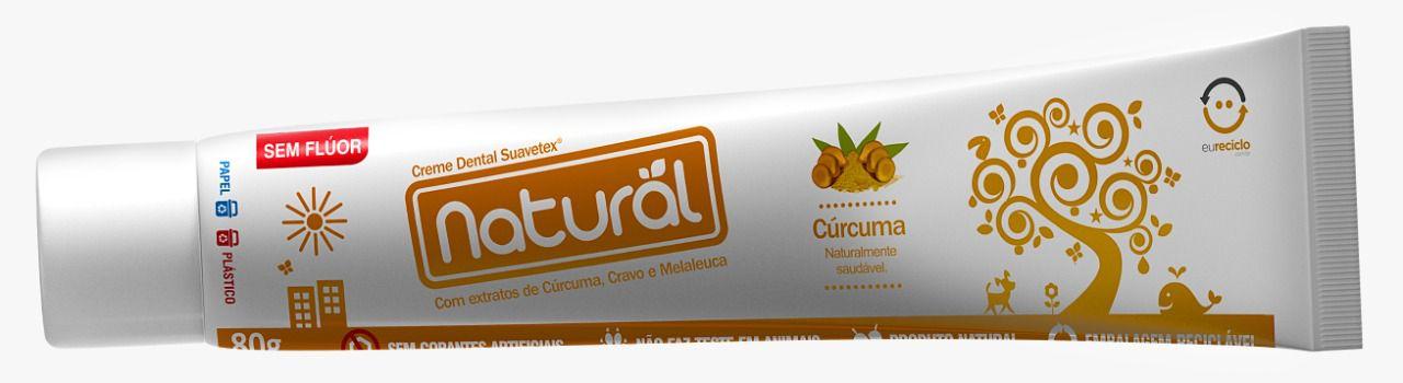 CREME DENTAL NATURAL  CURCUMA