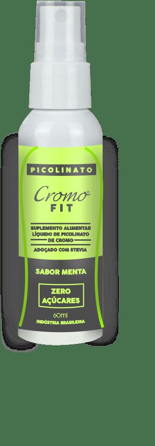CROMOFIT - EMAGRECER COM SAÚDE - PICOLINATO DE CROMO  60ML