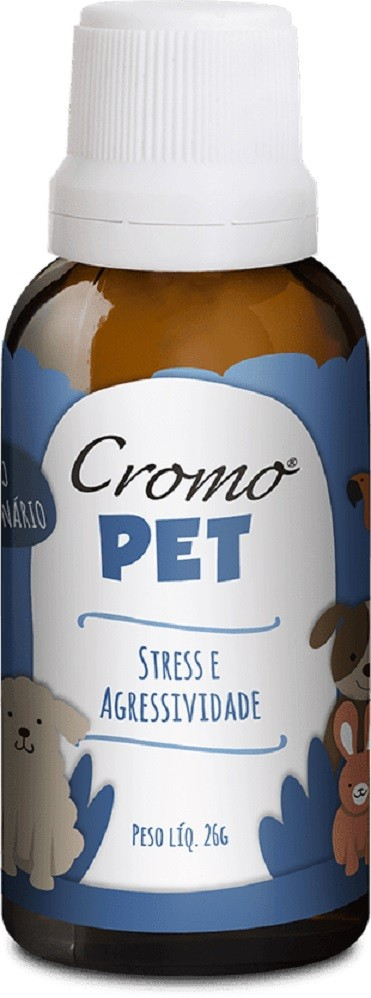 CROMOPET - STRESS E AGRESSIVIDADE