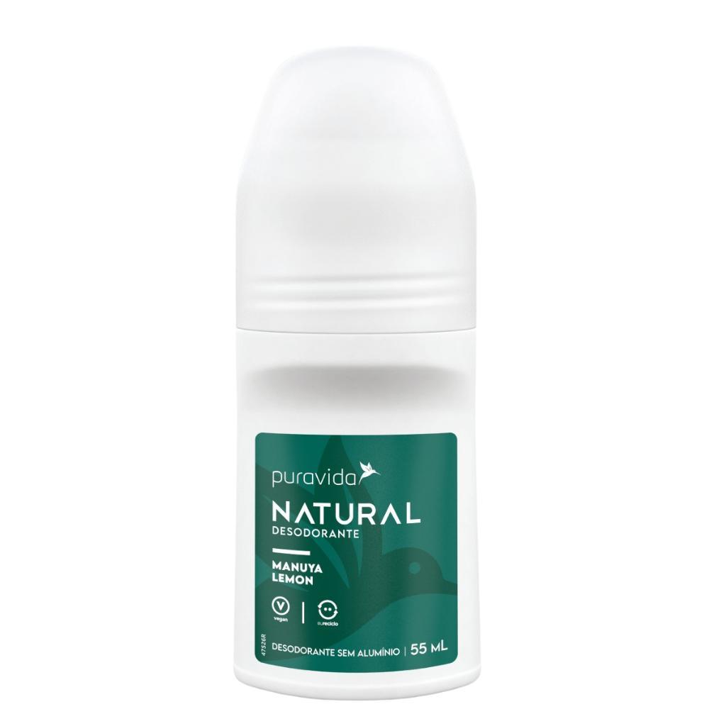 Desodorante Natural sem alumínio - Manuya Lemon 55ml