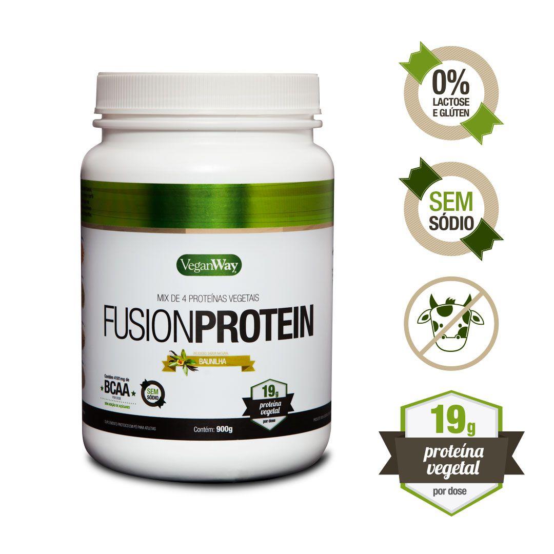 Proteína Vegana - Fusion Protein Baunilha