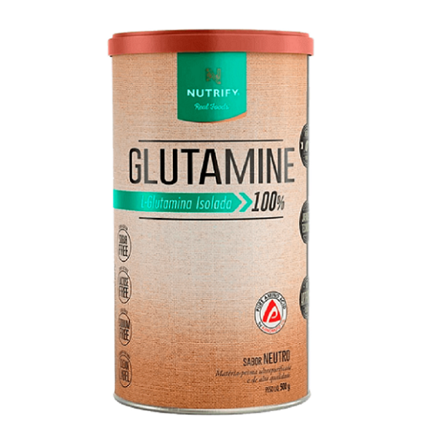 GLUTAMINA 500G - SABOR NEUTRO