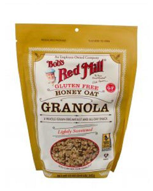 Granola Bobs Red Mill Sem Gluten com Mel 340g   **VENCIMENTO 12/12**