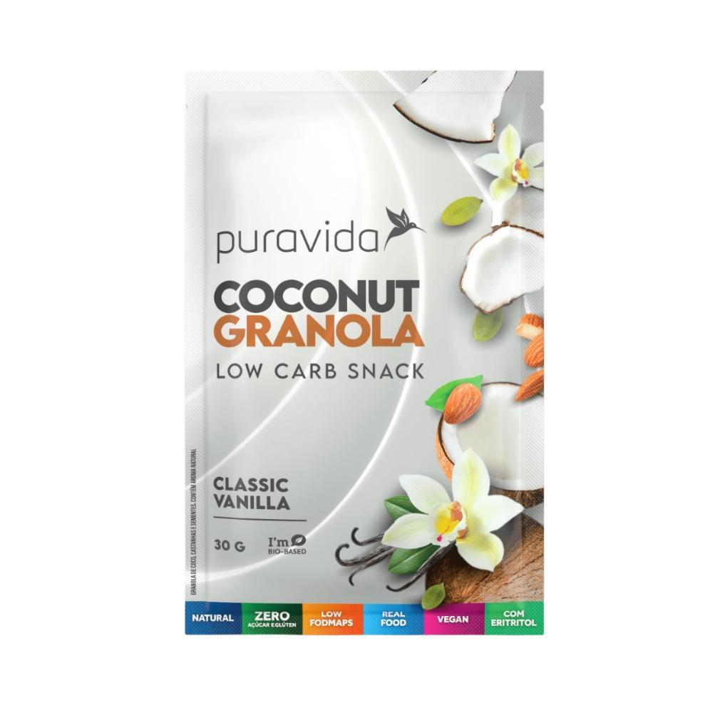 Granola Low Carb Coconut Vanilla 180g